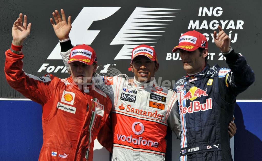 ハミルトンがシーズン初優勝、ハンガリーGP