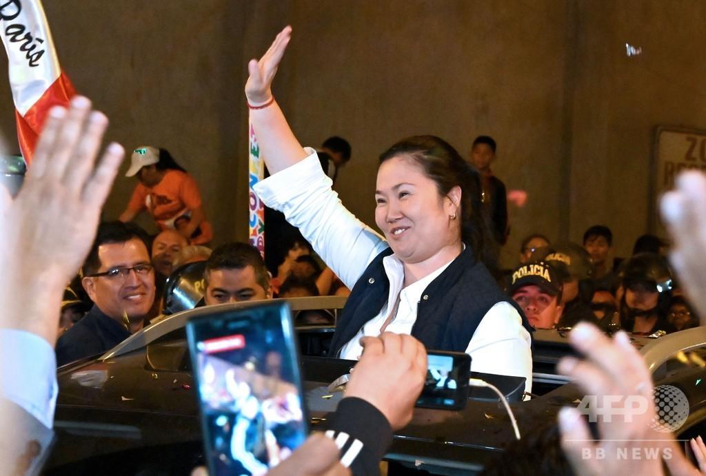 ケイコ・フジモリ氏、約1年ぶりに釈放 ペルー