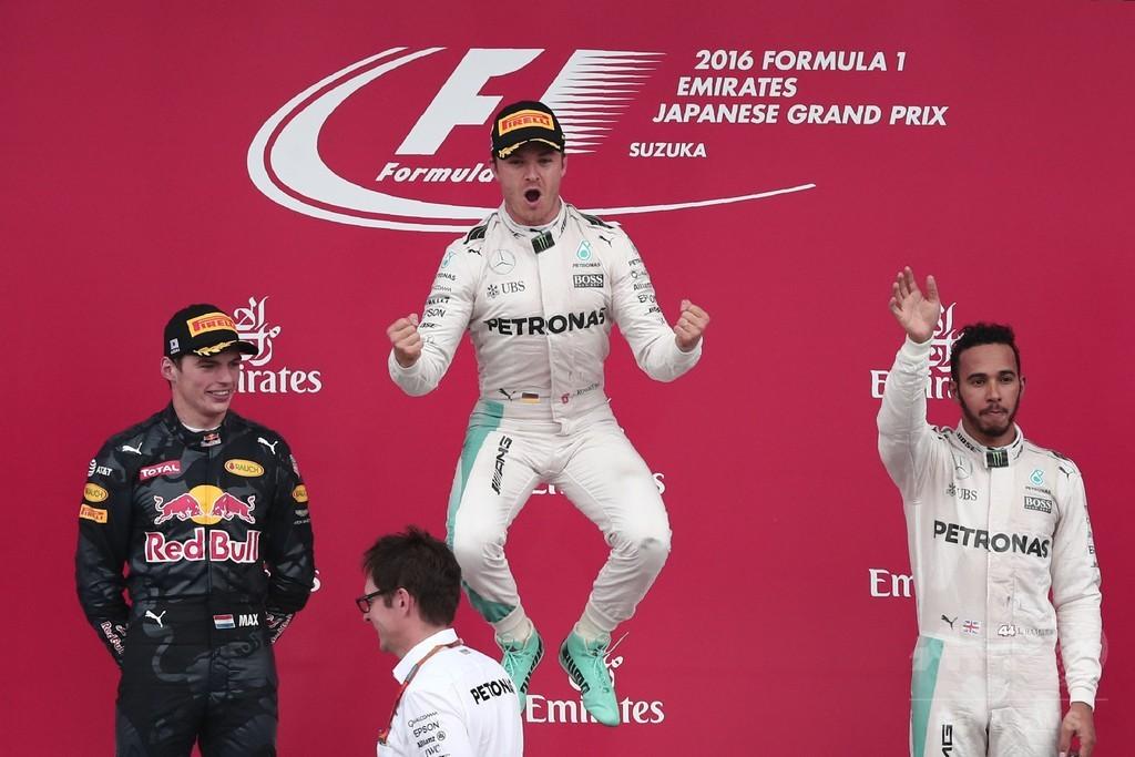 ロズベルグが鈴鹿初優勝、ハミルトンとの差は33点に 日本GP