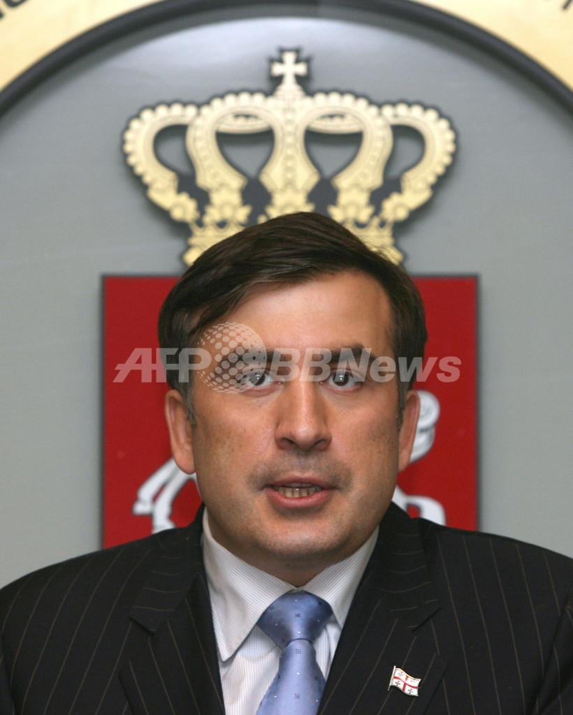 サーカシビリ大統領辞任、次期大統領選に向けて選挙活動開始