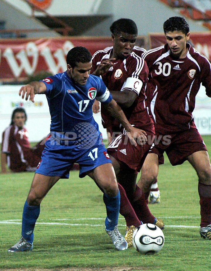 <サッカー 北京五輪アジア2次予選>クウェートvsカタールは1-1のドロー - クウェート