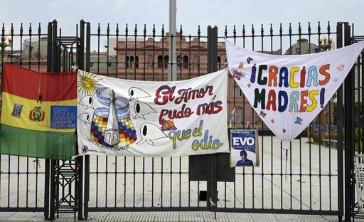 アルゼンチンに再亡命のモラレス前大統領、ボリビアが逮捕状発付へ