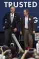 ブッシュ前大統領、弟ジェブ氏の集会に初めて登場 米大統領選