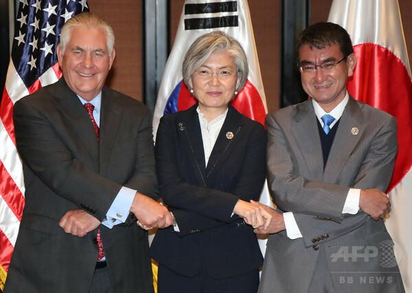 北朝鮮との対話再開は「ミサイル計画中止の場合のみ」、米国務長官