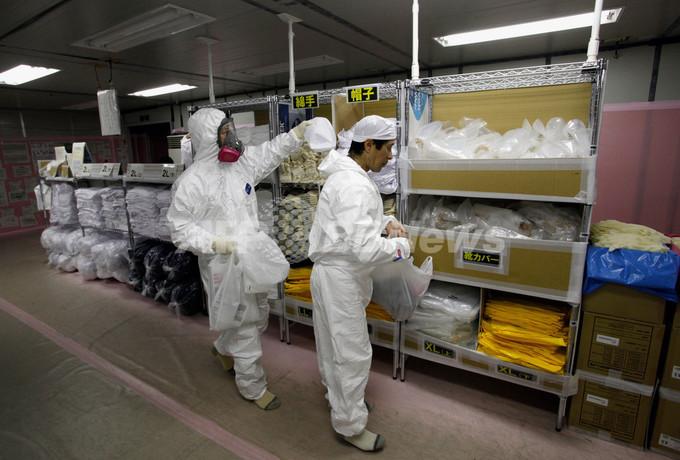 【写真特集】福島第1原発を公開、冷温停止状態宣言後初めて
