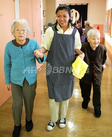 日本の介護施設がフィリピン介護士の受け入れ開始 - 東京