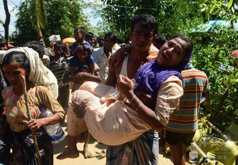 バングラデシュに避難のロヒンギャ、58万人超に 国連発表