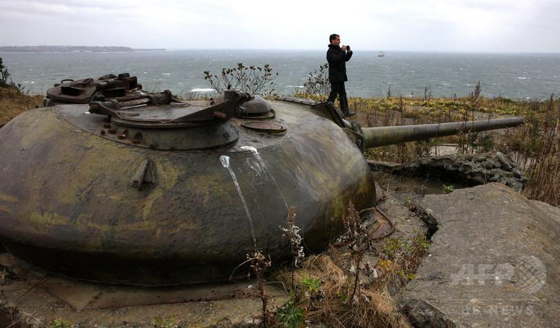 ロシア、北方領土に新たな軍事施設建設