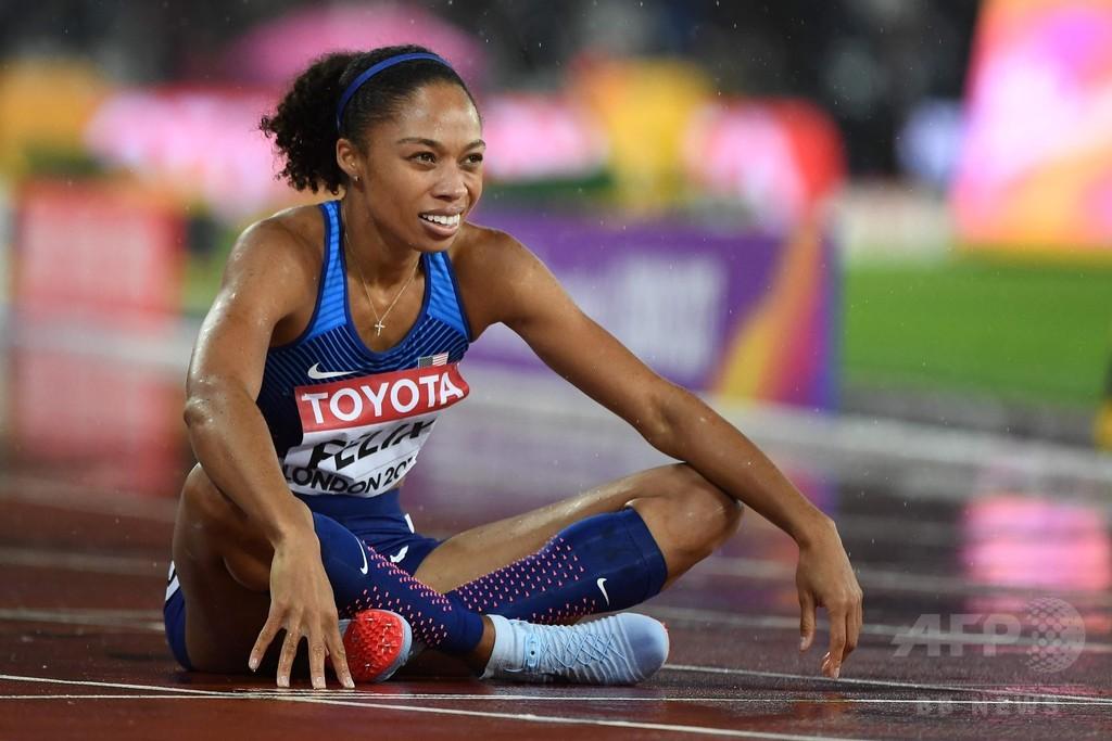 フェリックス、メダル数でボルトらに並ぶも「がっかり」世界陸上