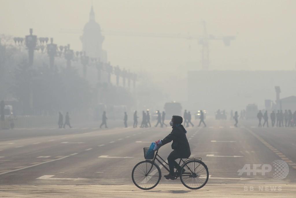 深刻な大気汚染地域で暮らす子ども、世界に3億人 ユニセフ