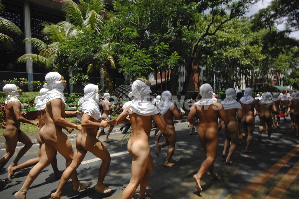 マラソン ハーバード 全裸