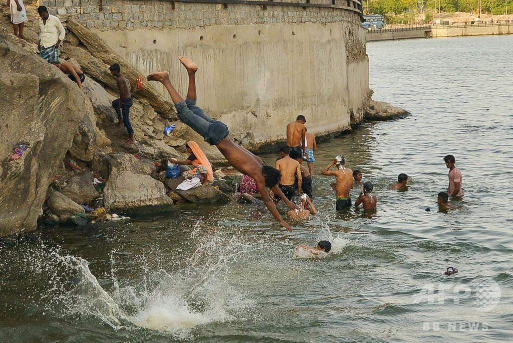 インド北部で猛暑、ラジャスタン州で気温50度超 水不足も深刻