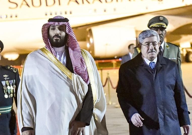 サウジ皇太子がアルジェリア訪問 カショギ氏殺害に現地でも批判