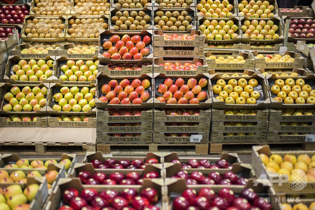 リンゴ1.5万個を転売業者が1人で買い占め? 販売した従業員解雇 キューバ