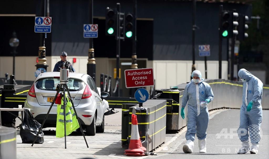 英議会付近の車衝突、運転手の男を殺人未遂罪で起訴