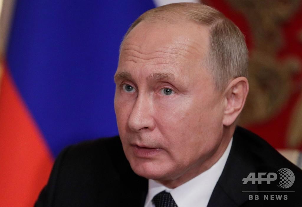 プーチン大統領、年金支給年齢引き上げ法案に署名 国民の反発続く