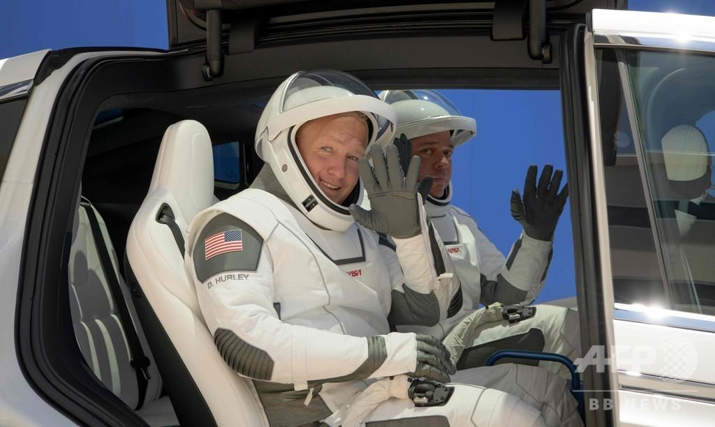 有人宇宙船「クルードラゴン」 親友飛行士2人のミッション