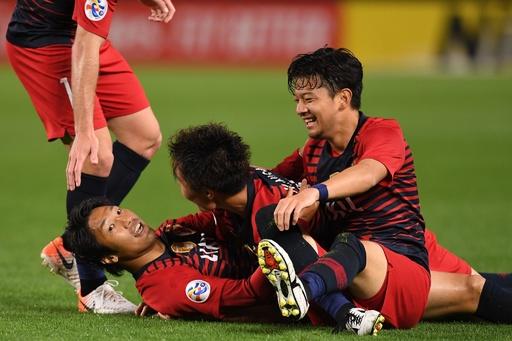 鹿島が逆転勝ちでACL16強、途中出場の伊藤が値千金2ゴール
