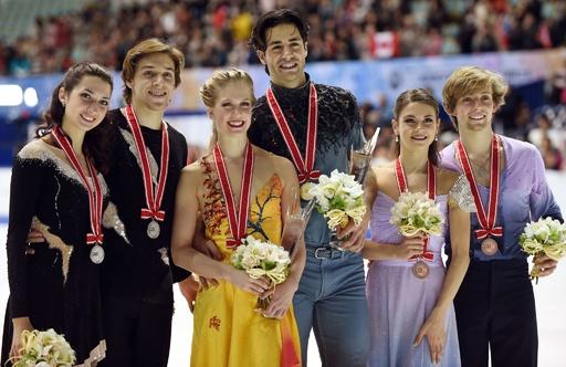 カナダペアがアイスダンス優勝、リード組は6位 NHK杯