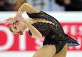 安藤が2位発進 首位はキム・ヨナ 11世界フィギュア・女子SP