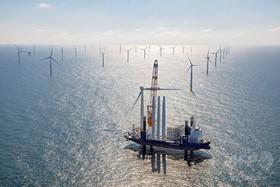 欧州の洋上風力発電、17年は25%増