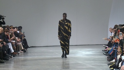 動画:風の力やエネルギーに着想、「イッセイミヤケ」19/20年秋冬メンズ
