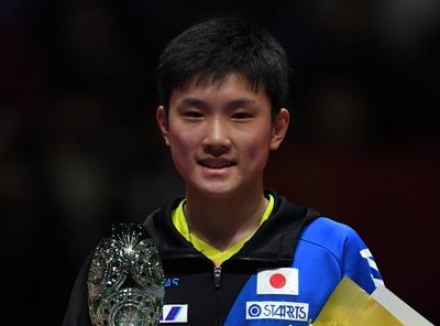 張本が卓球グランドファイナル優勝、早田/伊藤組も栄冠
