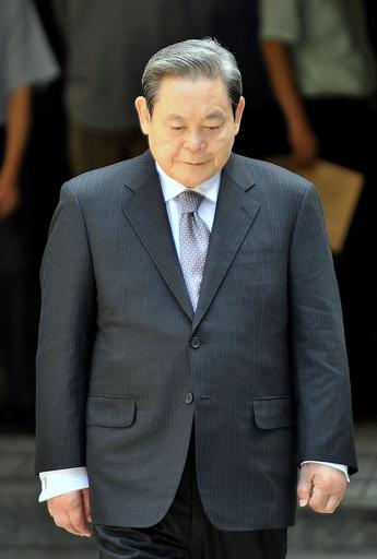韓国サムスン前会長、差し戻し審で執行猶予付き有罪判決
