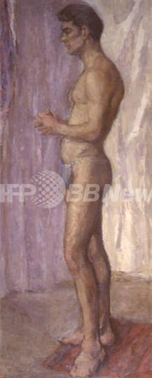 青年ショーン・コネリーの油彩画発見、美術モデル時代の半裸像