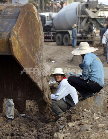 油田攻撃で拘束の中国人労働者7...