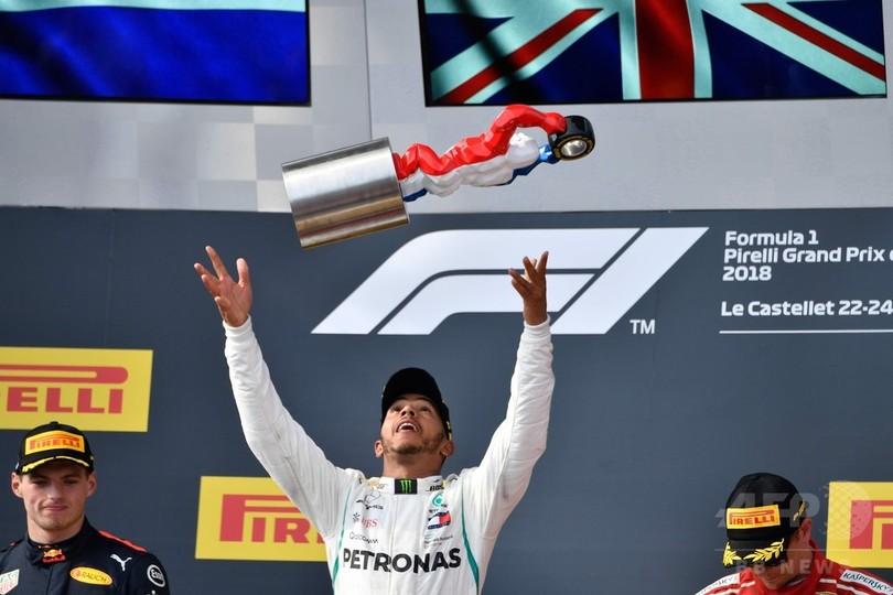 「素晴らしい一日」、ハミルトンがフランスGP初勝利で年間首位復帰