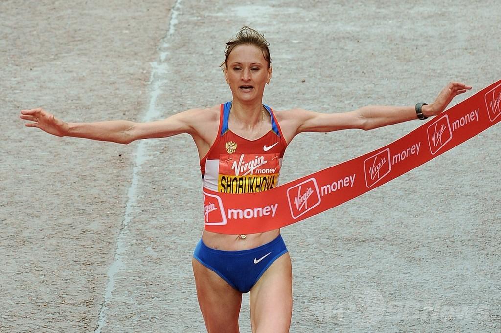 女子マラソンのショブホワ、血液ドーピングで2年間の出場停止
