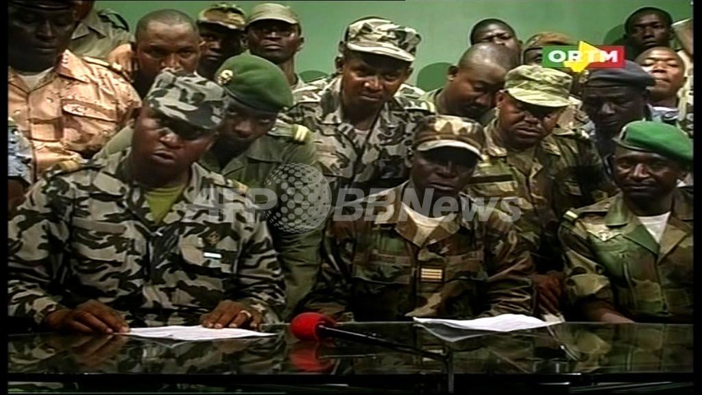 マリ反乱軍、国境封鎖と夜間外出禁止を発表