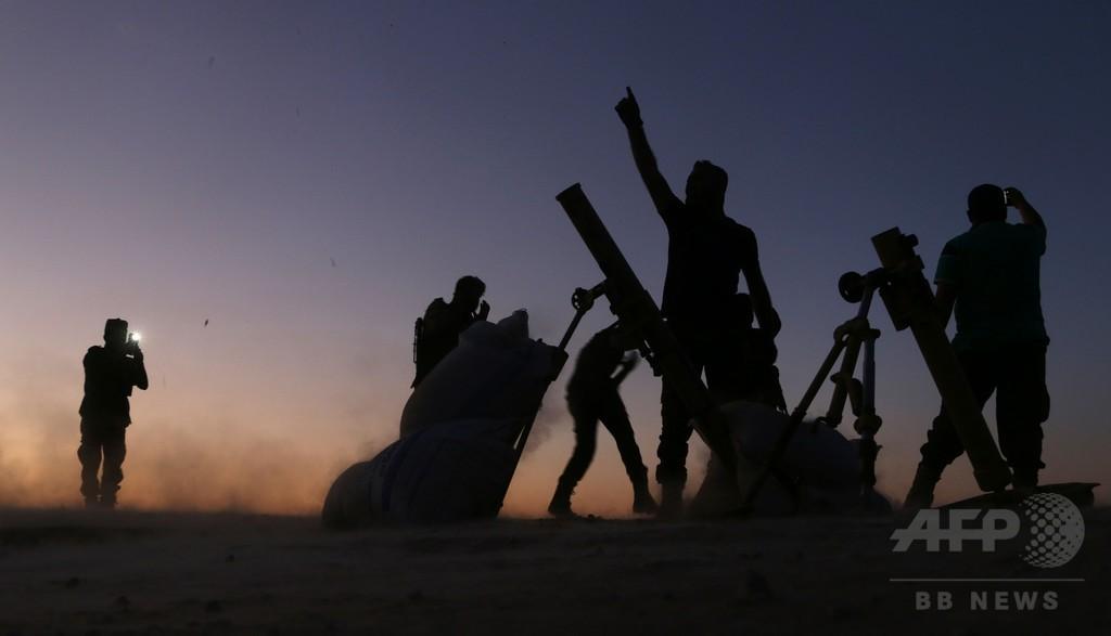 シリア反体制派、ISの象徴的都市を制圧 北部ダビク