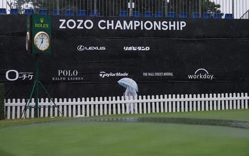 ZOZO選手権2日目は雨天順延に、大会主催者が発表
