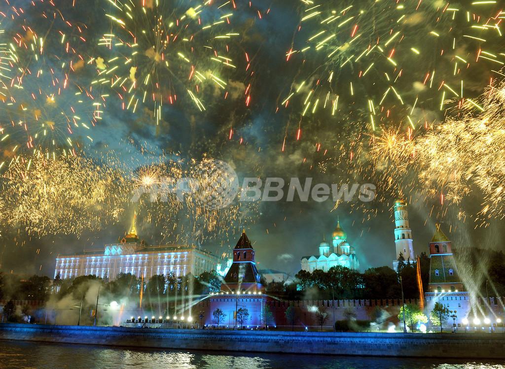 ロシア戦勝記念パレード、NATO軍が初参加