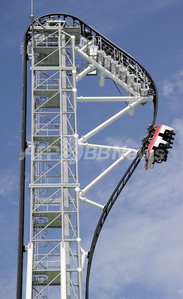 世界一の落下角度、富士急ハイランドに新コースター登場