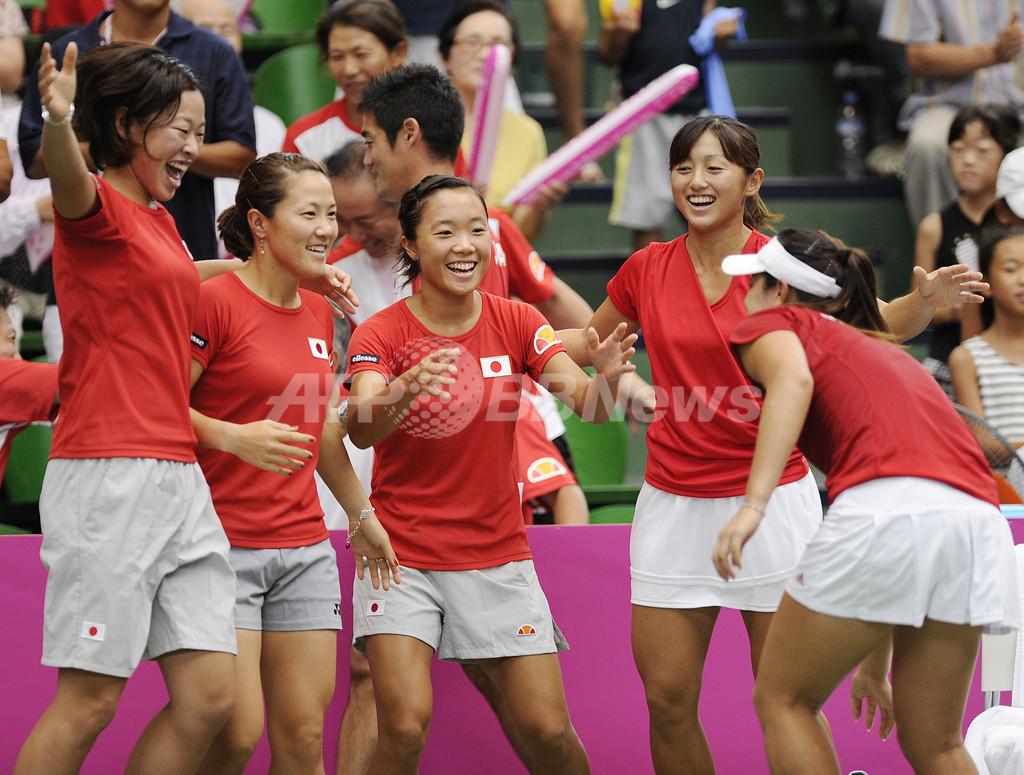 日本 ワールドグループ2への昇格決める、フェドカップ