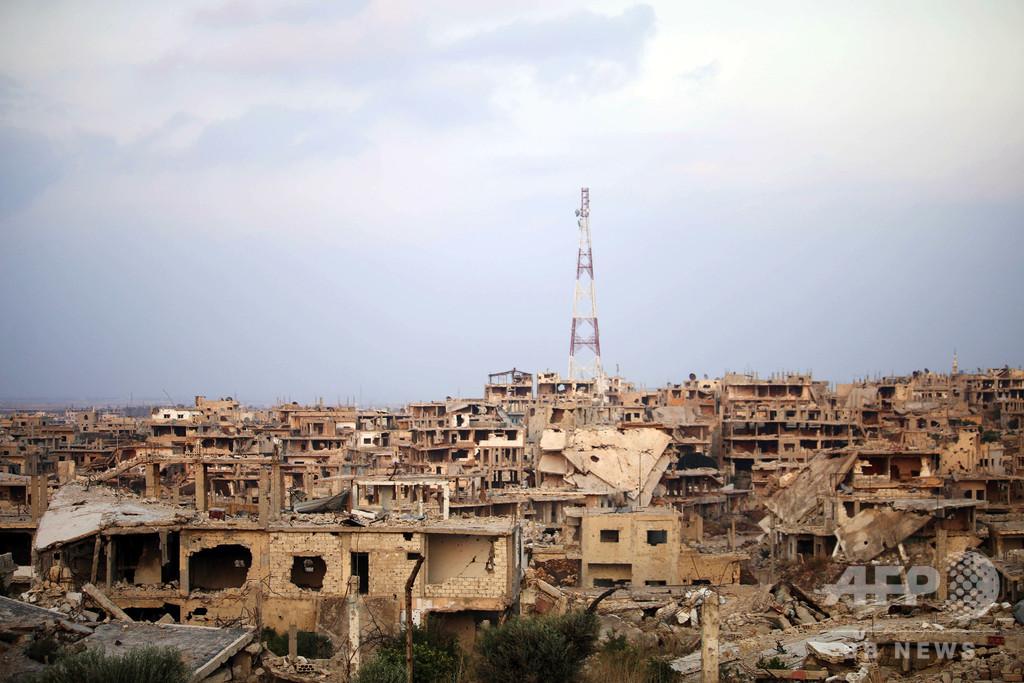 シリア内戦の物的損害44兆円相当、国連発表