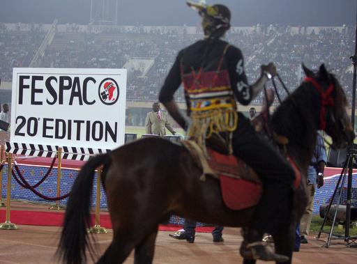 <第20回汎アフリカ映画テレビ祭>開幕日の光景 - ブルキナファソ