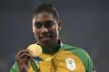 リオ五輪金メダリストのセメンヤが結婚、過去には性別疑惑も