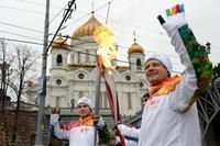 ソチ五輪聖火、リレー中に4度消える 当局は説明に追われる