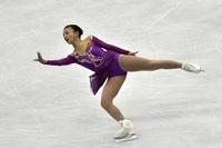本田真凜が2位、坂本花織が3位 世界ジュニア選手権