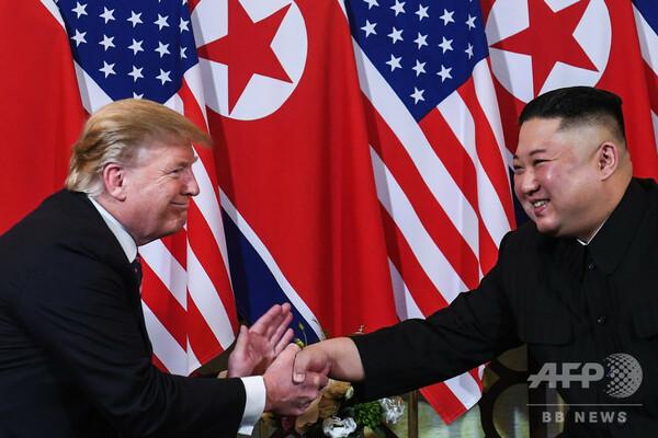 トランプ大統領、北朝鮮の短距離ミサイル発射は「信頼を裏切る行為ではない」