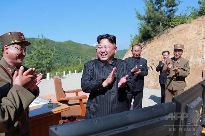 北朝鮮を「世界最強の核大国」に 金正恩氏が演説