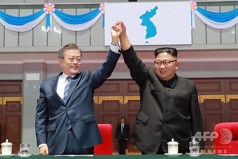 金正恩氏、2度目の米朝会談の早期開催を希望 文氏が発表