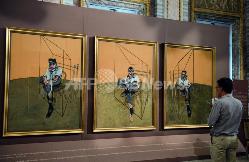F・ベーコンの作品、約142億円で落札 美術品史上最高