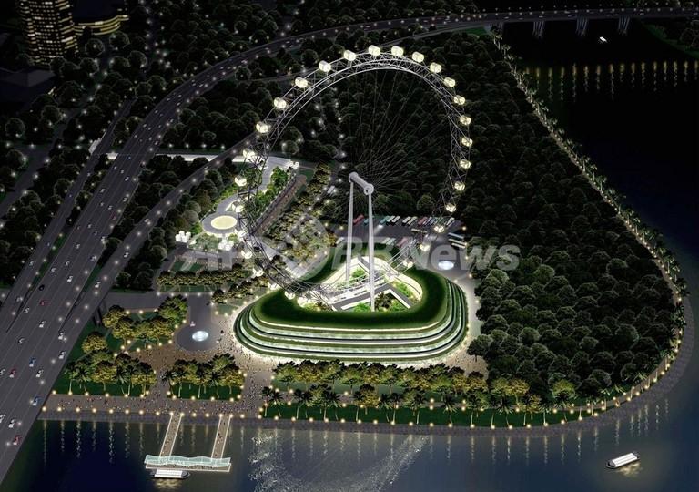 世界最大の観覧車、08年3月に完成予定
