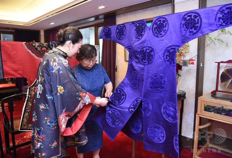 中国古典衣装鑑賞会 北京で開催