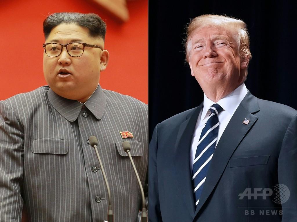 米朝首脳会談へ「順調に進んでいる」 トランプ氏
